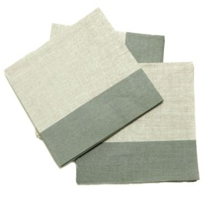 servet grijs/grijs